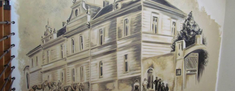 Velkoplošná Nástěnná Malba/ Recepce a hotelový pokoj, Praha