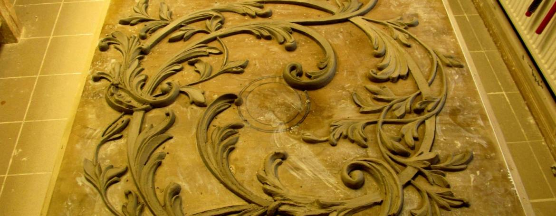 Sochařství a Mozaiky