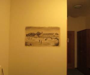 Wall painting_ Hotel room Prague 04