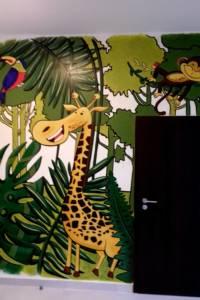 Nástěnná malba Jungle 001