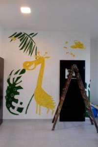 Nástěnná malba Jungle 002