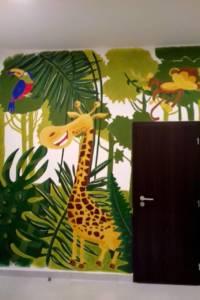 Nástěnná malba Jungle 003