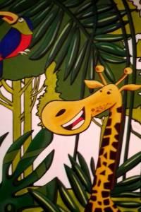 Nástěnná malba Jungle 004