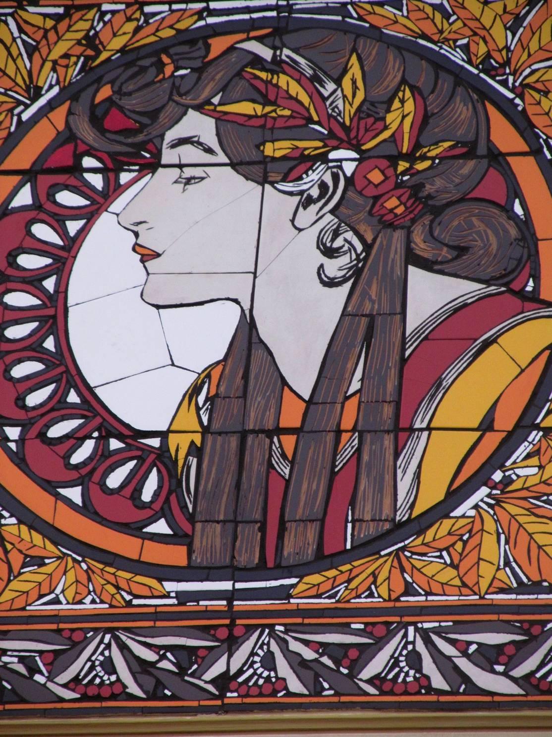 Secesní Mozaika/ Kompletní realizace; Praha 9