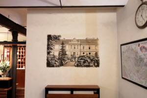 Nástěnná malba, Recepce Hotela, Praha 002